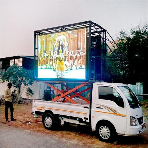 LED Advertising Van