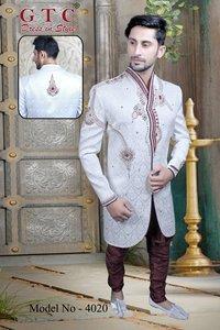 Mens Designer Fancy Indo Western Sherwani