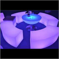LED Round Table Chair