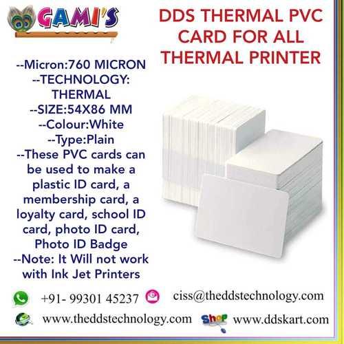 Thermal Pvc Card