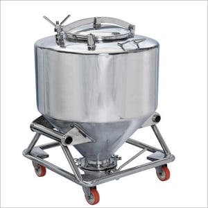 Stainless Steel IPC Container