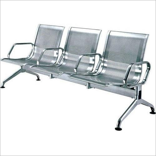 Stainless Steel Visitor Bench
