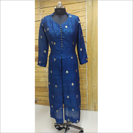 Straight Fit Ladies Kurti