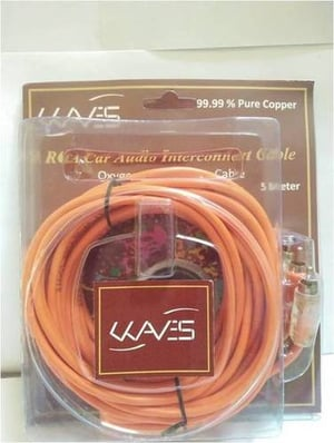 RCA Car Audio Interconnect Cable