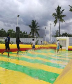 Soapy Football 40x70
