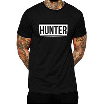 Mens Trendy Half Sleeve T- Shirt