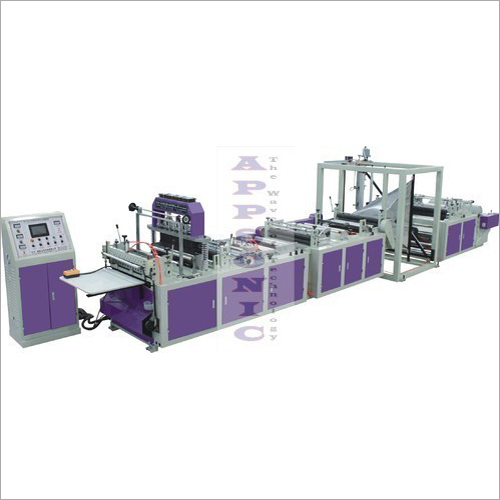 Non Woven Gusset Bag Making Machine