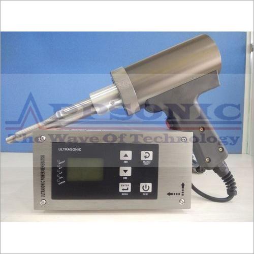 Auto Tuning Ultrasonic Hand Gun