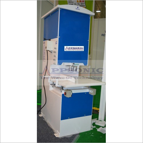 Non Woven Carry Bag Punching Machine
