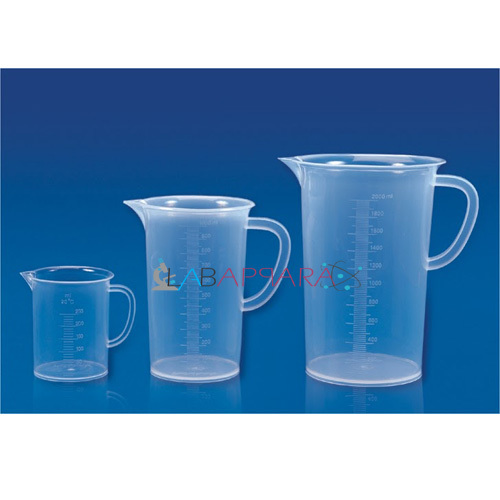 Measuring Jug (Printed Graduation) Polypropylene Labappara