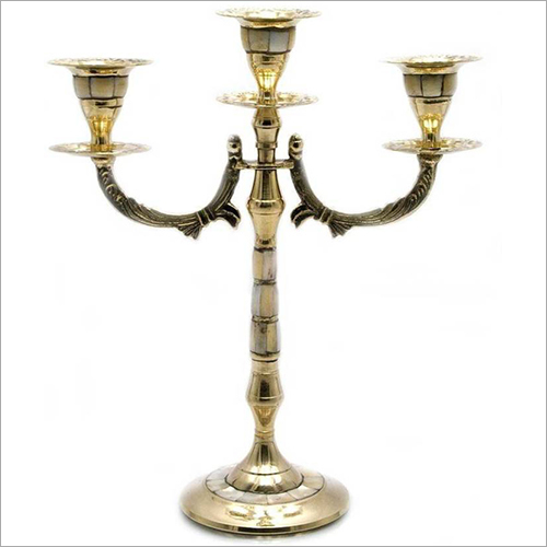 Brass Decorative Candle Holder