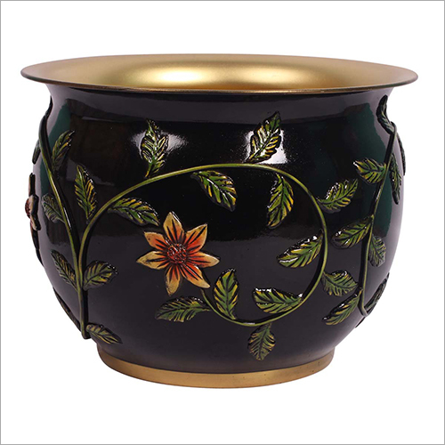 Designer Brass Pot