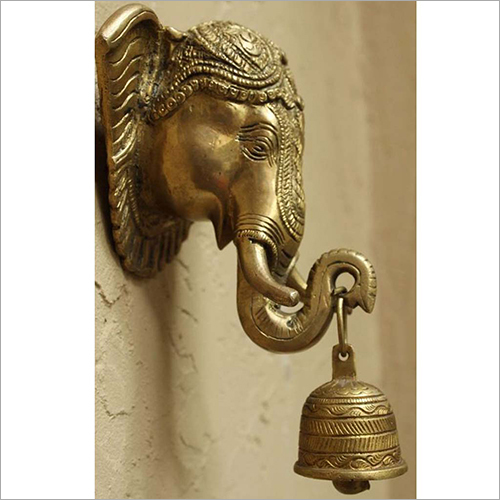 Wall Hanging Elephant Bell