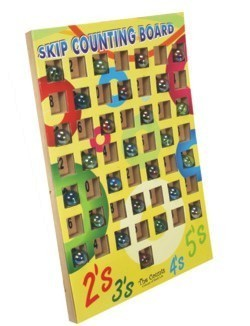 Skip Counting Game With Marbles