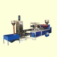 Mother Baby Plastic Recycling Machine