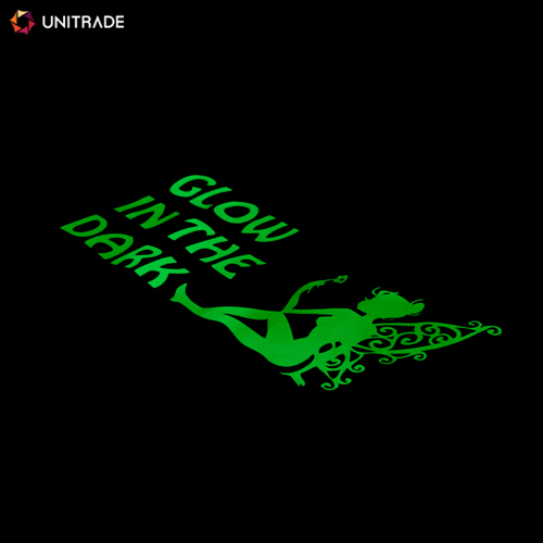 Glow In The Dark Heat Transfer Vinyl Roll for Textiles