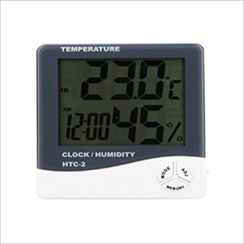 Thermo Hygrometer Clock