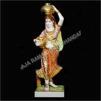 Marble Panihari Statue