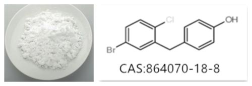 4-(5-Bromo-2-chlorobenzyl)phenol 864070-18-8, Dapagliflozin Impurity 39