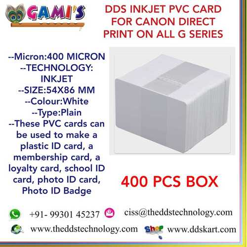 Canon Pvc Id Cards Prices