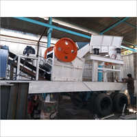 Tyre Mount Mobile Crusher