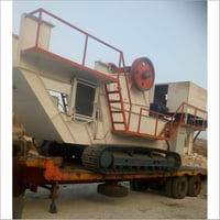 Track Mount Mobile Crusher