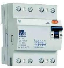 RCCB 4POLE 10-100AMP