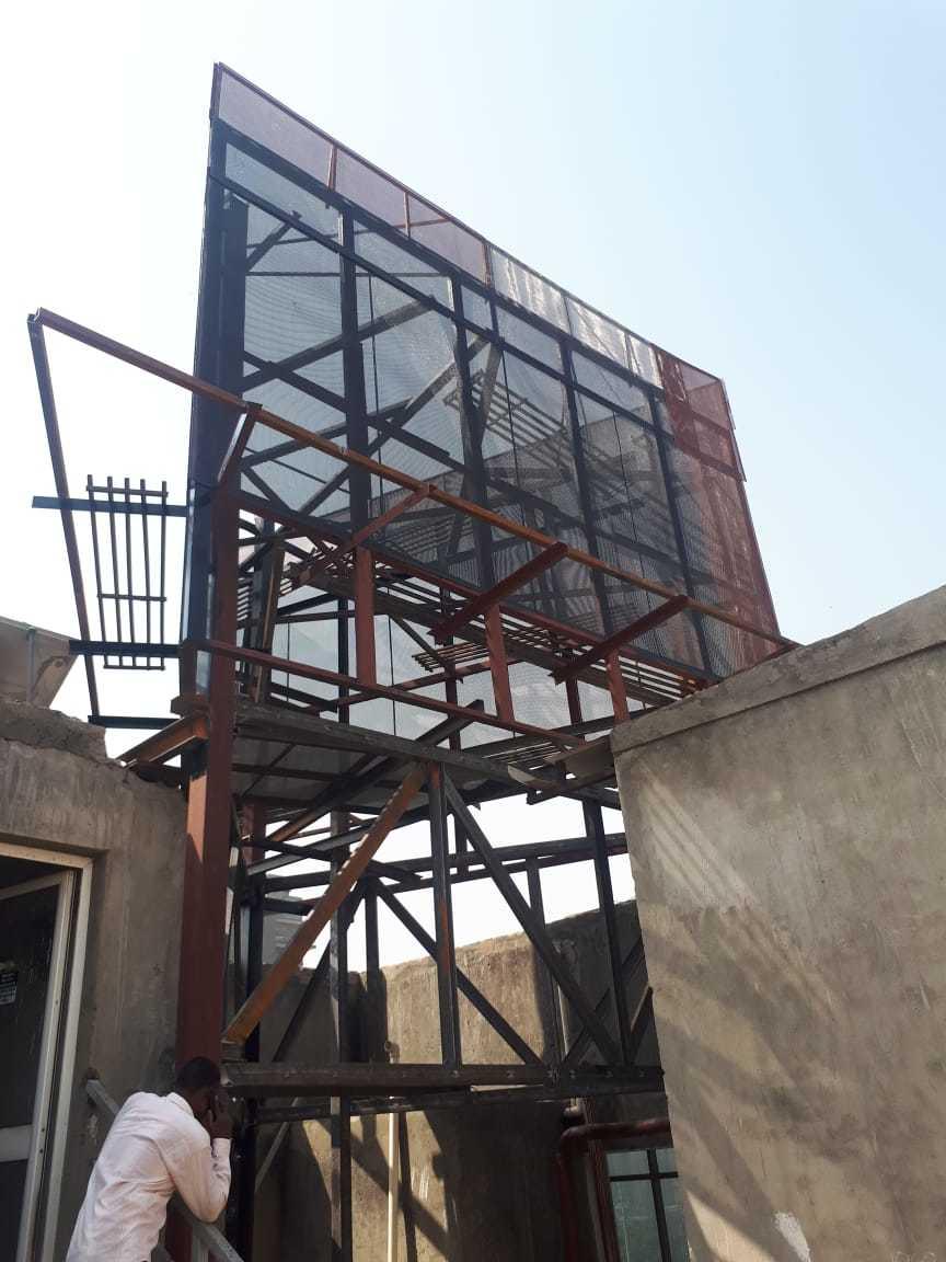 Outdoor Hoarding Structure