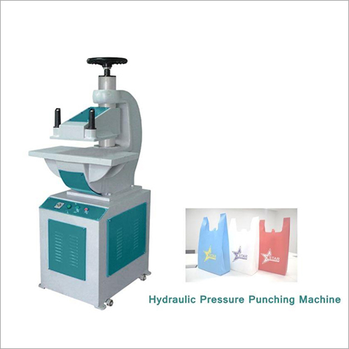 Hydraulic Pressure W Cut Bag Punching Machine