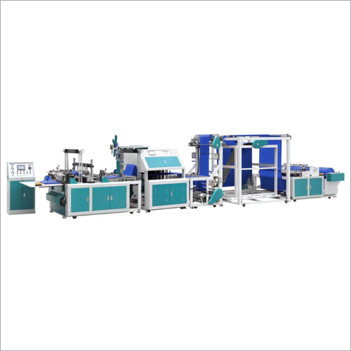 Fully Automatic Non Woven Box Type Bag Making Machine