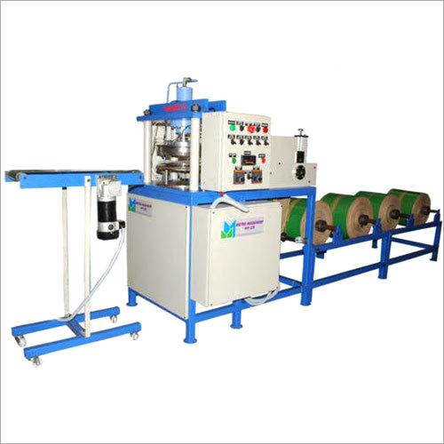 Hydraulic Fully Automatic 5 Rolls Paper Plate Making Machine