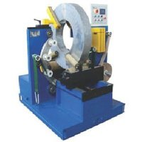 Steel coil wrraping machine