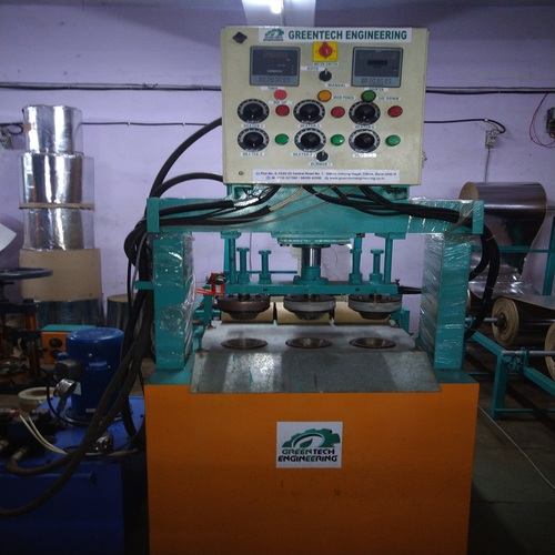 Triple Die Hydraulic Dona Making Machine