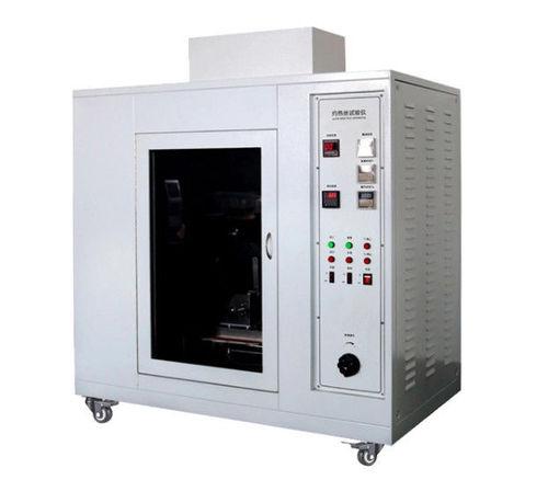 AC 220V 50Hz Plastic Testing Machine , Polycarbonate Glow Wire Measuring Device