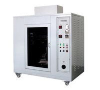 AC 220V 50Hz Plastic Testing Machine , Polycarbonate Glow Wire Measuring Device