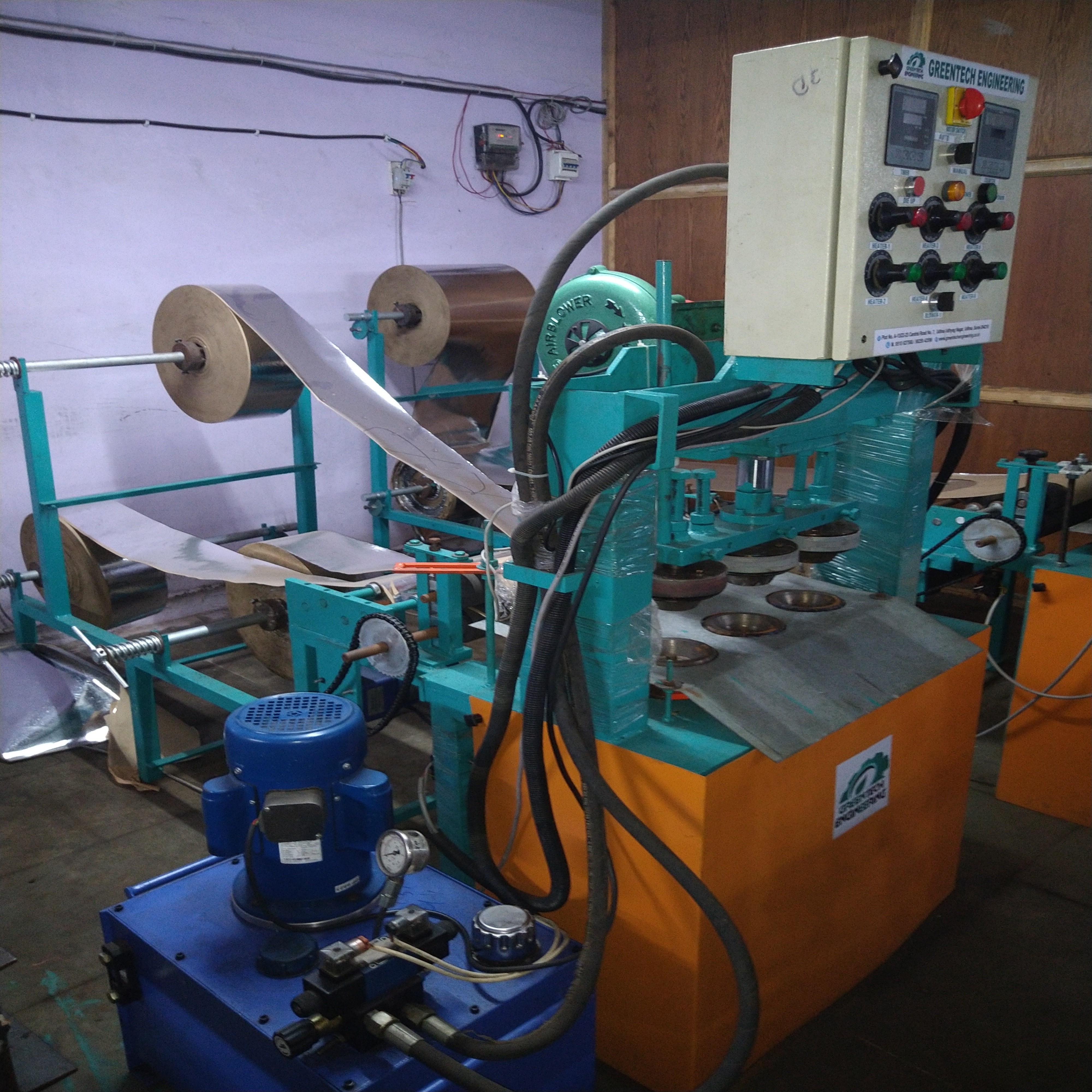 Triple Die Paper Dona Machine