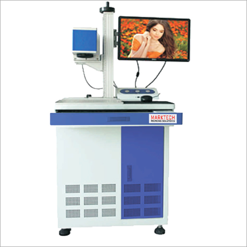 Cabinet type laser marking machine