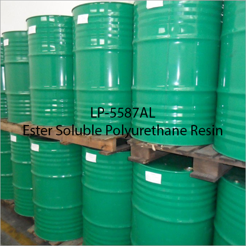 LP-5587AL Ester Soluble Polyurethane Resin