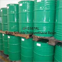 LP-5587AL Ester Soluble Polyurethane Resin
