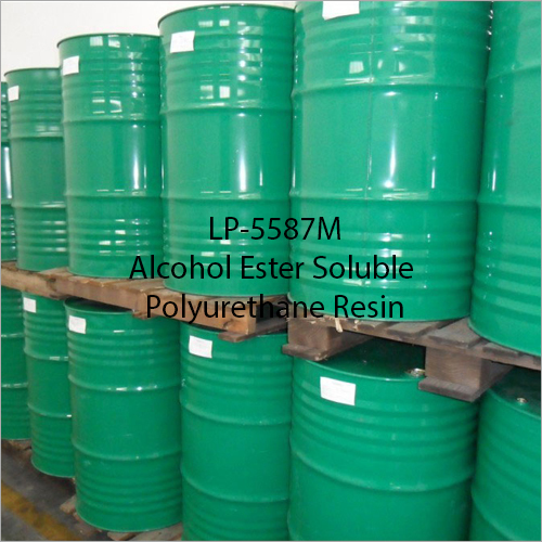 LP-5587M Alcohol Ester Soluble Polyurethane Resin
