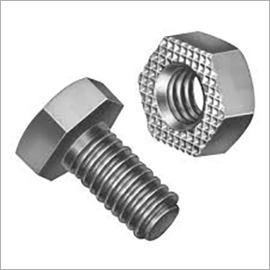 MS Threaded Nut Bolt