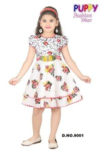 Printed Cottan Frocks