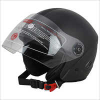 Open Face Black Isi Helmet