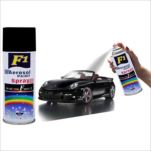 Black Spray Paint 240g