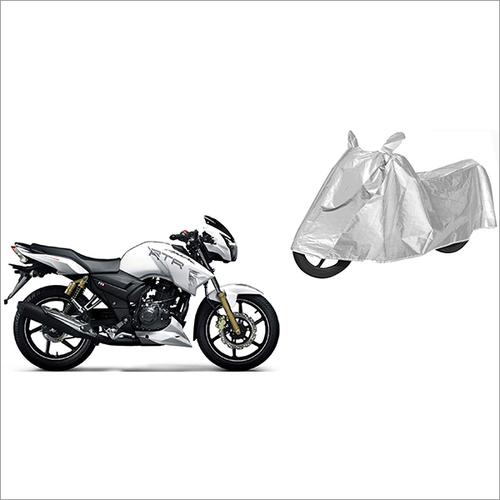 Silver Universal Waterproof Bike Cover