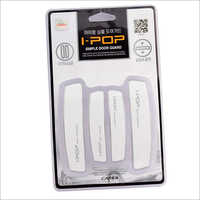 White I pop Door Guard Universal
