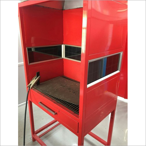 Welding And Brazing Booth
