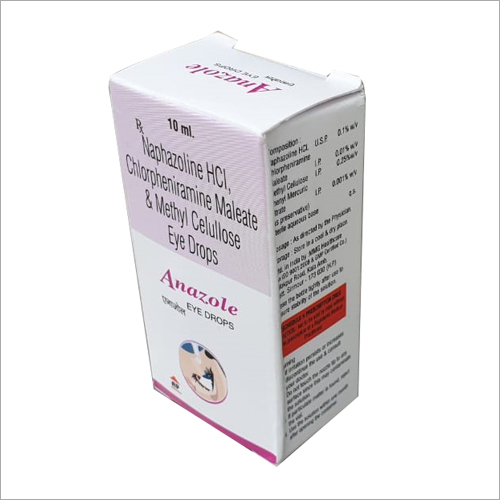 10 ml Naphazoline HCL Chlorpheniramine Maleate And Methyl Cellulose Eye Drop