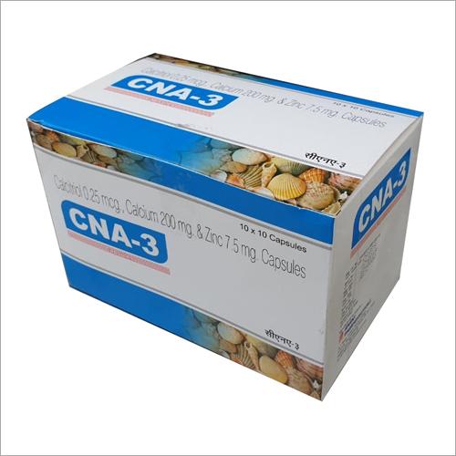Calcitriol 0.25 mcg Calcium 200 mg And Zinc 705 mg Capsule