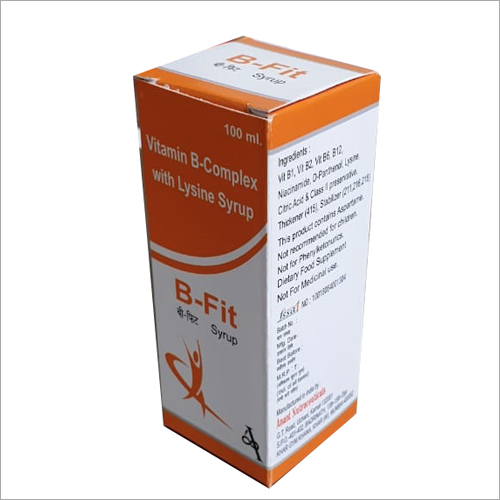 100 ml Vitamin B-Complex With Lysine Syrup